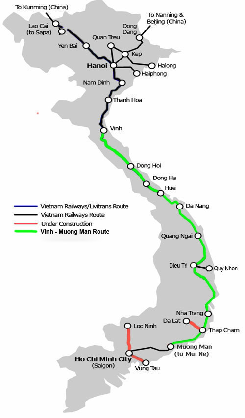 Vinh - Muong Man Map